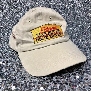 🖤 Vintage 2000s Extreme Home Makeover cap